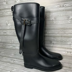 Burberry Rubber Riding Boots 41